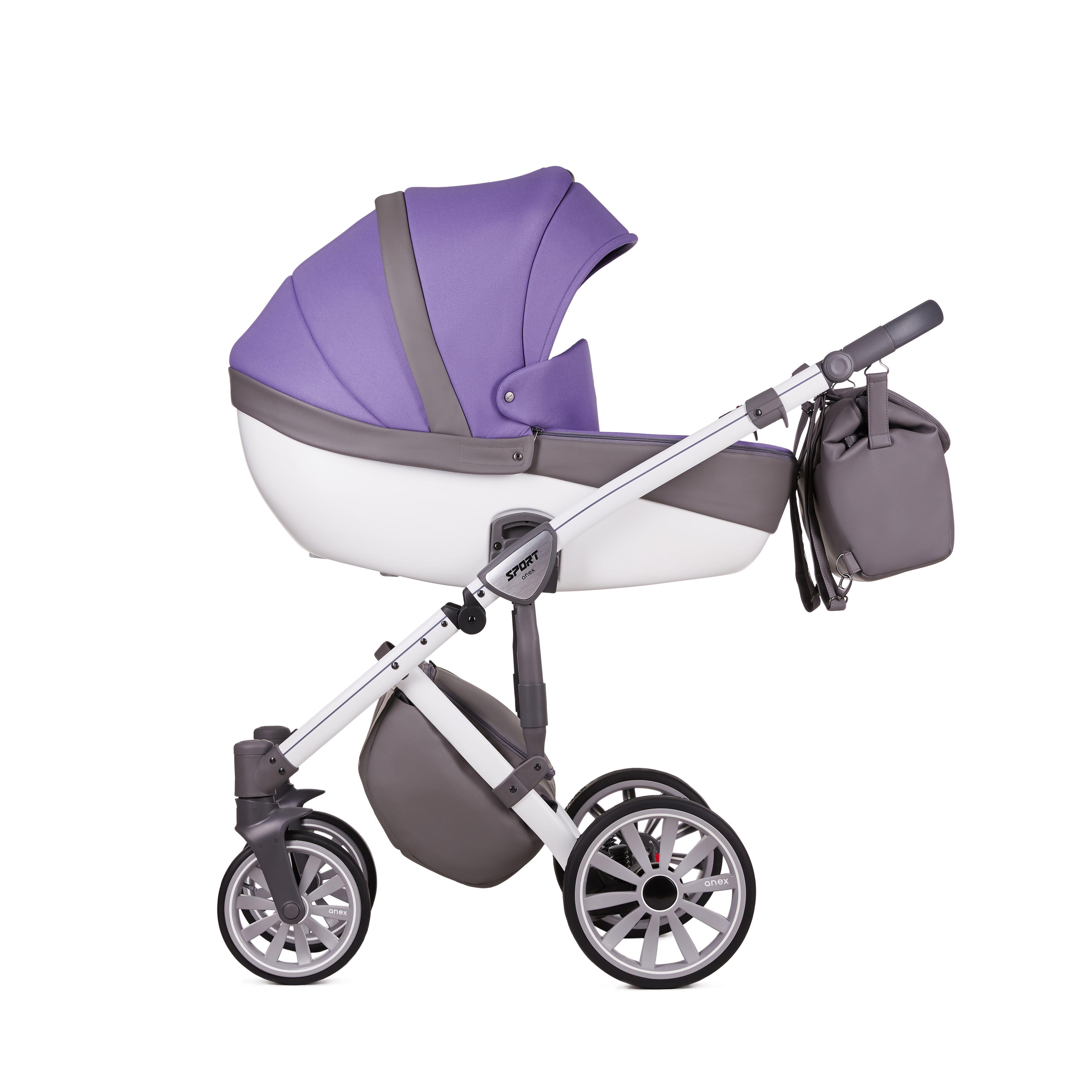 Коляска Anex Sport 3в1 / ultra violet