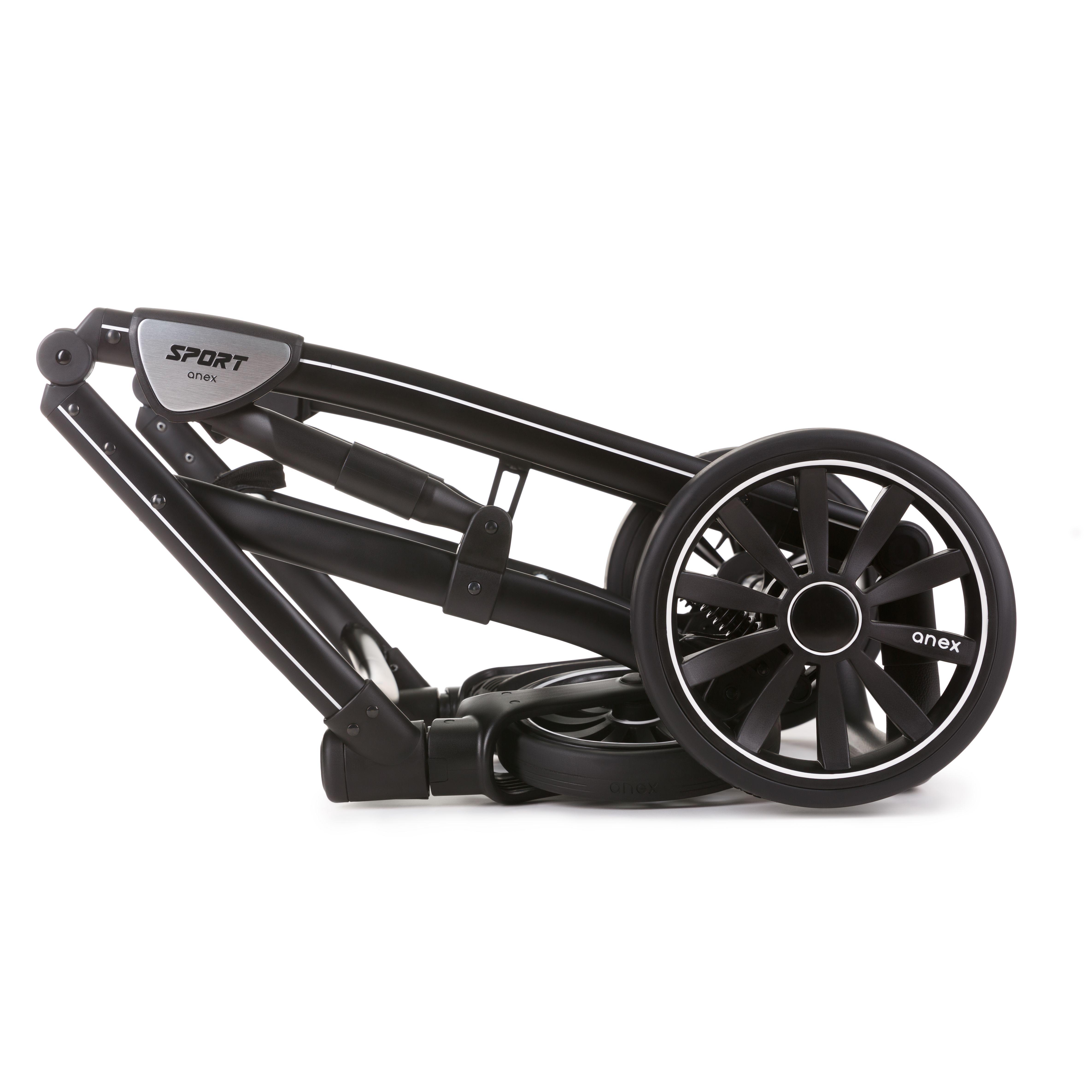 Коляска Anex Sport 2в1 black form 2.0