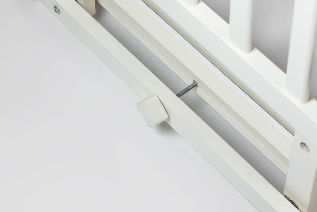 Ліжечко-трансформер Лодочка з шухлядою, біле
