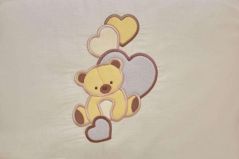 Постіль Twins Romantic R-006 Teddy Love 7 ел