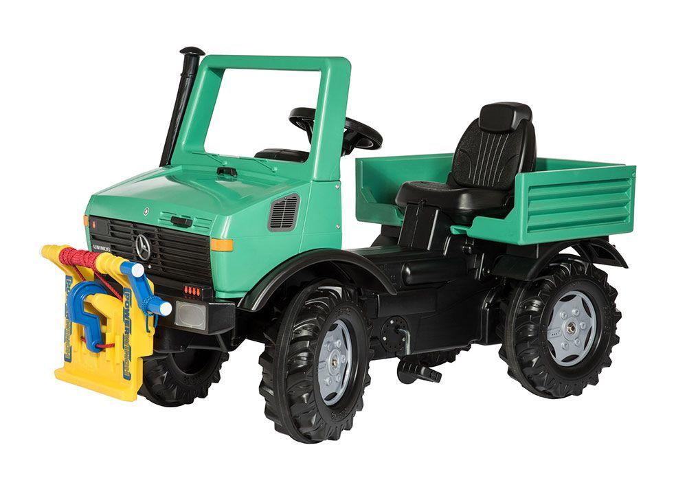 Пожежна машина Rolly Toys rollyUnimog Forst зелена