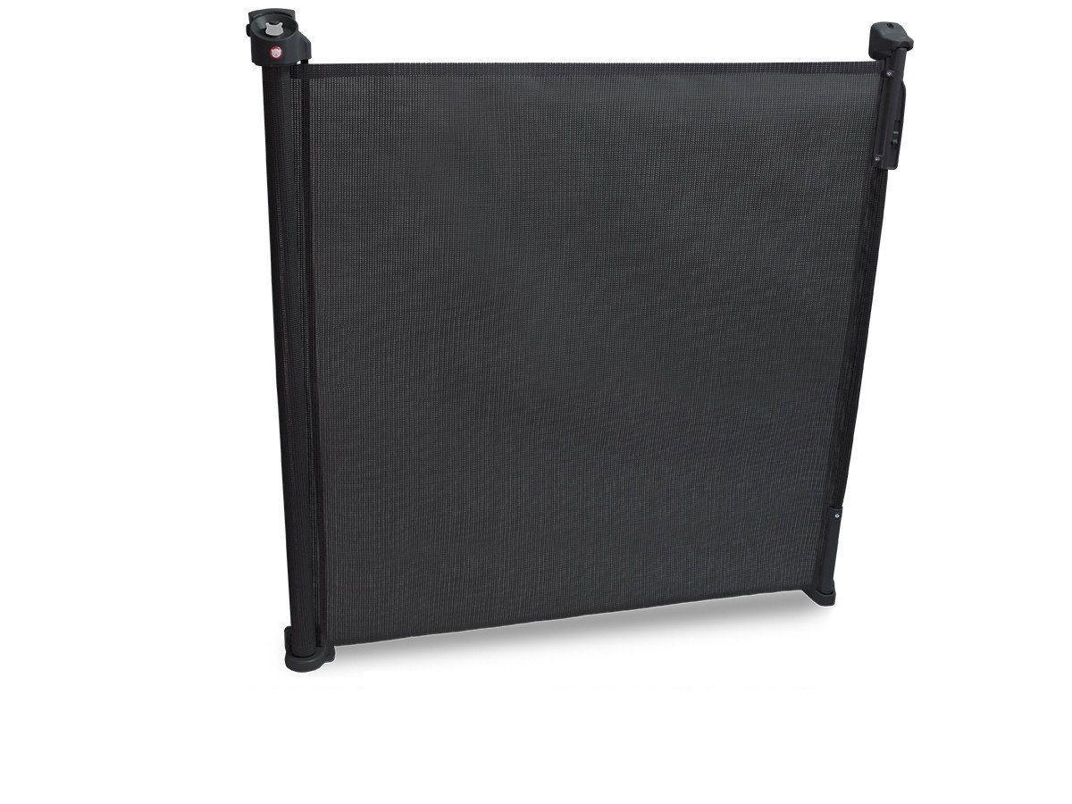 Бар'єрка захисна до дверей та сходів від 0-140см Lionelo Tulia (колір - black)